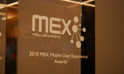2010 MEX User Experience Awards