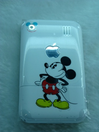 Imitation iPhone with Mickey Mouse branding